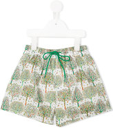 Amaia - tree print swim shorts - kids - Polyester - 6 yrs