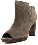 Corso Como Edie Women Peep-toe Suede Brown Ankle Boot.