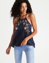 American Eagle Outfitters AE Embroidered Cami