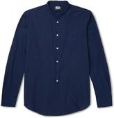 Massimo Alba - Grandad-collar Cotton Shirt