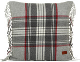 Gant Holiday Tartan Check Cushion - Grey - 50x50cm