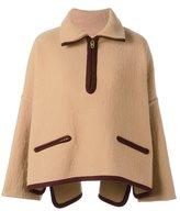 Chloé oversized zipped jacket