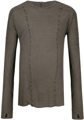 Masnada Panelled Long Sleeve Top