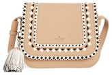 Kate Spade Crown Street - Jasper Leather Saddle Bag - Brown