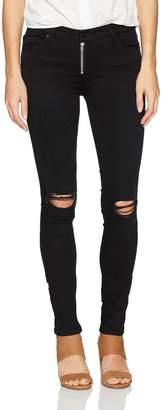 Black Orchid Denim Women's Natalia Exposed Zipper Skinny Jean