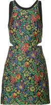 3.1 Phillip Lim floral cloqué dress - women - Silk/Polyester - 2