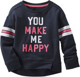 Osh Kosh Oshkosh Happy Sweatshirt - Preschool Girls 4-6x