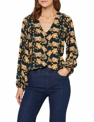 Find. Amazon Brand Women's V Neck Floral Top