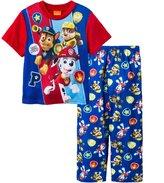"""Paw Patrol Little Boys' """"Top Pups"""" 2-Piece Pajamas"""