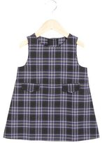 Petit Bateau Girls' Plaid Shift Dress