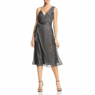 Keepsake Women's Now & Then Flowy Shiny Lurex Midi Dress