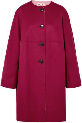 Marni Reversible Wool And Cashmere-blend Coat