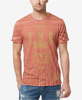 Buffalo David Bitton Men's Cotton Graphic-Print T-Shirt