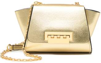 Zac Posen Eartha Mini Chain Leather Crossbody Bag