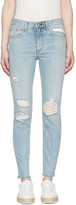 Rag & Bone Blue Marilyn Skinny Jeans