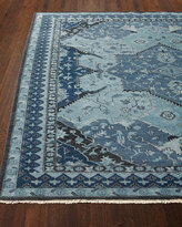 Ralph Lauren Home Reynolds Blue Rug, 4' x 6'