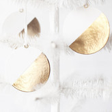 Minted Gold Dipped Paper Ornaments