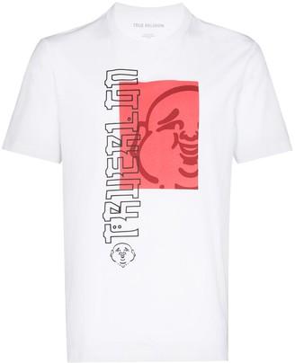 True Religion Buddha logo-print T-shirt