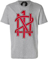 No.21 logo print T-shirt - men - Cotton - S