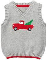 Gymboree Truck Sweater Vest