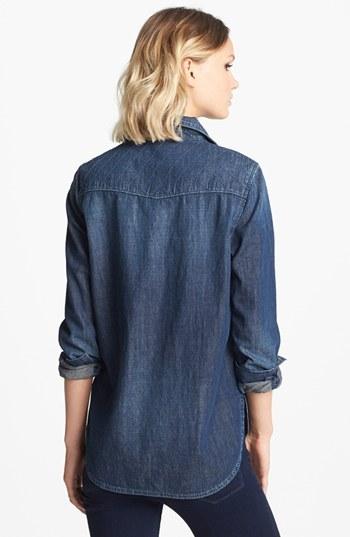 Paige 'Brooke' Stitched Yoke Denim Shirt