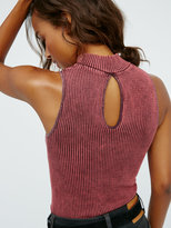 Free People No Looking Back Washed Cami