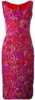 Ermanno Scervino jacquard floral dress - women - Silk/Polyamide/Polyester - 46
