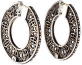 Konstantino Classics Flat Hoop Earrings