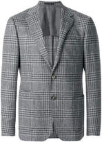 Z Zegna plaid suit jacket