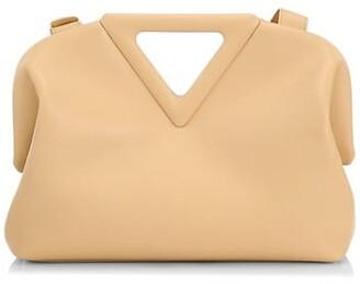 Bottega Veneta Triangle Leather Pouch