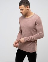 Selected Raw Edge Knit