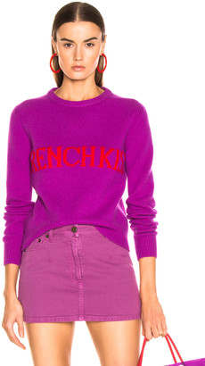 Alberta Ferretti French Kiss Sweater in Purple | FWRD