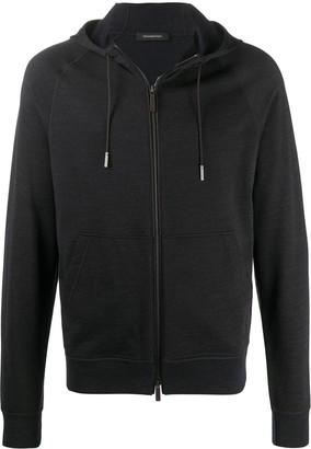 Ermenegildo Zegna Long-Sleeved Zip-Up Hoodie
