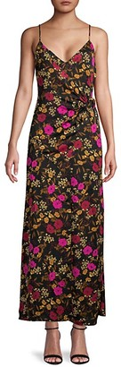ASTR the Label Moody Floral-Print Dress