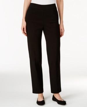 Alfred Dunner Classics Allure Pull-On Slim-Leg Pants
