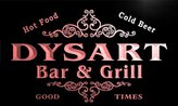 AdvPro Name u12688-r DYSART Family Name Gift Bar & Grill Home Beer Neon Light Sign
