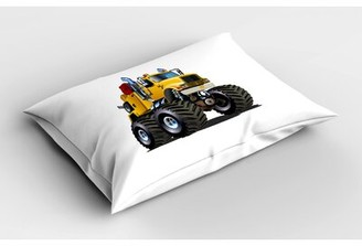 East Urban Home Truck Sham Size: Twin
