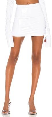 LaQuan Smith X REVOLVE High Waist Mini Skirt