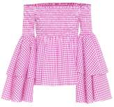 Caroline Constas Appolonia cotton top