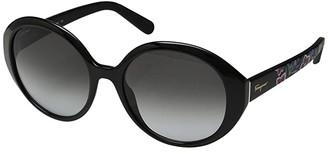 Salvatore Ferragamo SF915SL (Black/Grey Gradient) Fashion Sunglasses