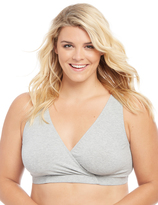 Motherhood Plus Size Wrap Nursing Sleep Bra