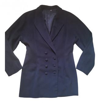 Adolfo Dominguez Navy Cashmere Jackets
