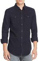 BLK DNM Denim Regular Fit Snap Front Shirt