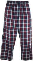 Hanes Men's Woven Plaid Drawstring Sleep Pajama Pants, 2XL