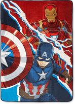 Marvel Captain America Civil War Fleece Blanket