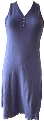Andres Sarda Purple Cotton Dress for Women
