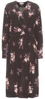 Nina Ricci Floral-printed silk dress
