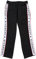 Givenchy COTTON SWEATPANTS WITH LOGO SATIN BANDS