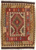 Ecarpetgallery Hand-woven Kashkoli Kilim Geometric 3' x 4' 100% Wool area rug