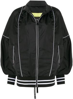 Frankie Morello contrasting trim jacket